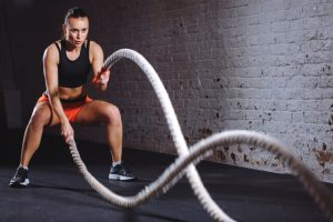 cross training workouts battle ropes